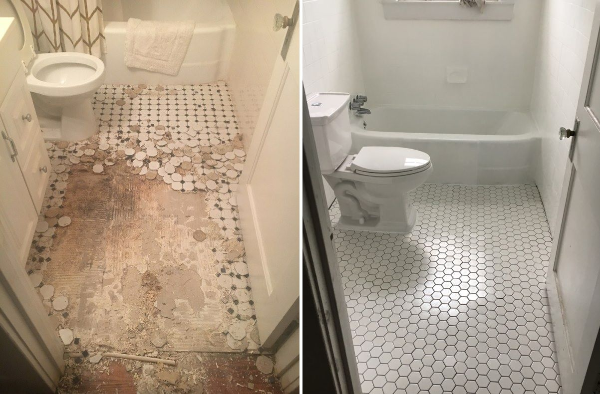 How To Update Your Bathroom Floor Tiles