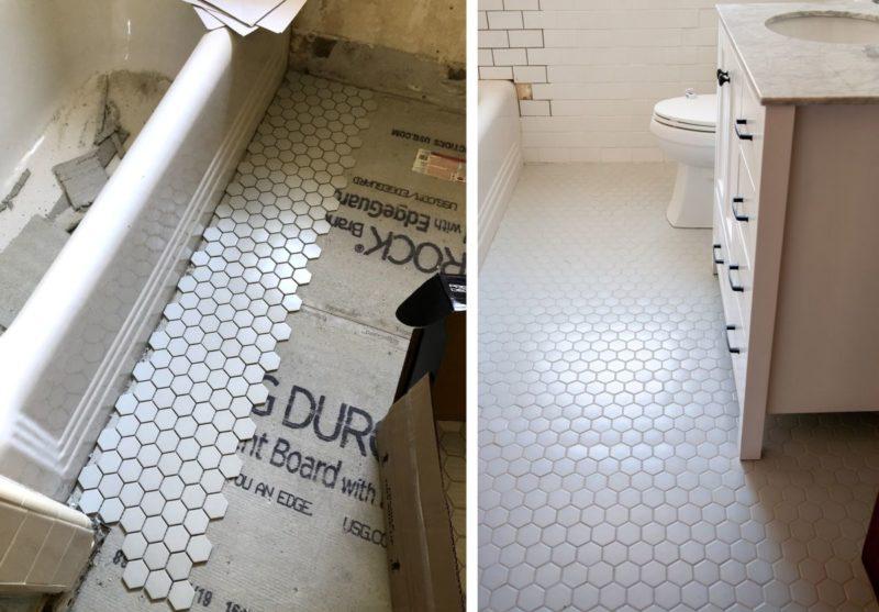 How To Update Your Bathroom Floor Tiles – 6 DIY ideas