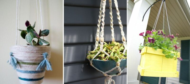 DIY Hanging Planter Ideas – Original Ways To Add Greenery And Freshness To Your Home