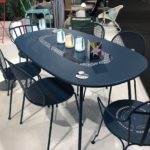 Fermob outdoor furniture in classic blue