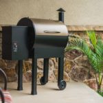 Grills Lil Tex Elite 22 Wood Pellet Grill and Smoker