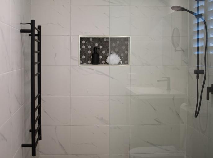 Install error when installing a shower enclosure