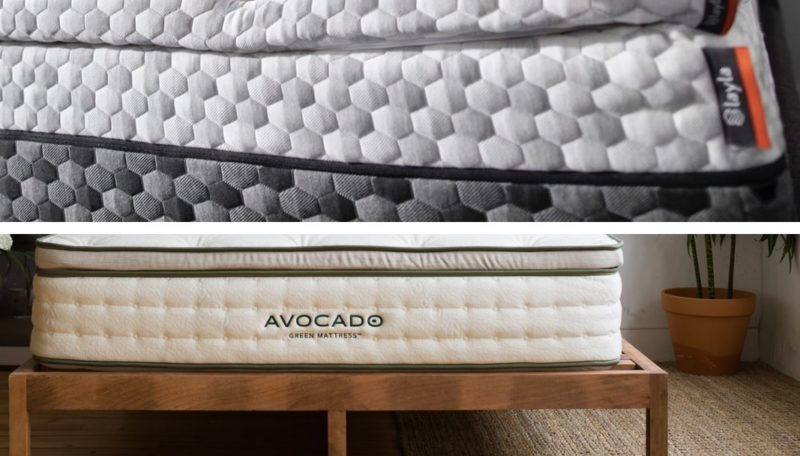 Which is Best: Layla Mattress VS Avocado Mattress