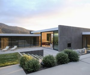 Concrete House Surrounded By Foothills And Wild Views