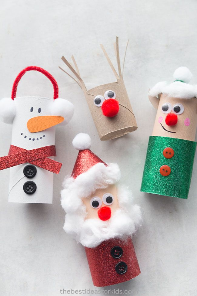 15 Cute And Simple Christmas Crafts For Kids