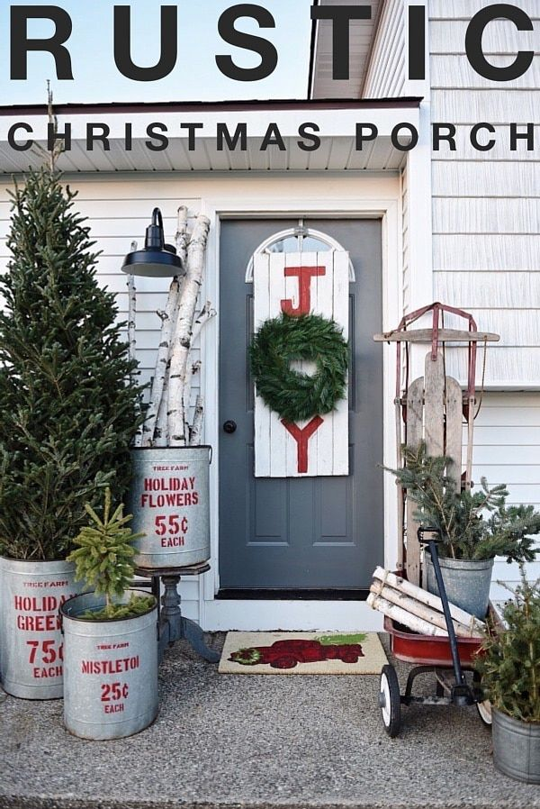 20 DIY Christmas Decorations And Design Ideas For The Outdoors