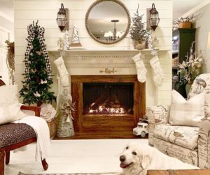 Trendy Christmas Mantel Decor Ideas From Instagram