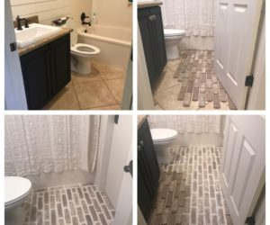 How To Update Your Bathroom Floor Tiles – 6 DIY ideas