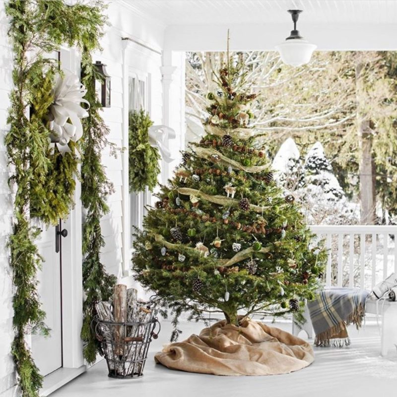 Christmas Porch Decor Ideas From Instagram To Get You Into The Holiday Spirit