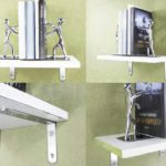 Alise Stainless Steel Shelf Brackets