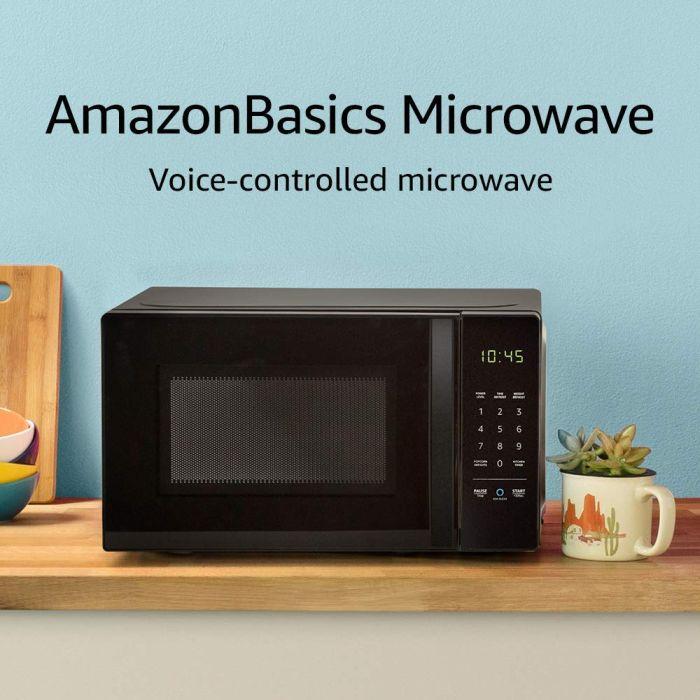 Amazon Basics Microwave with Alexa