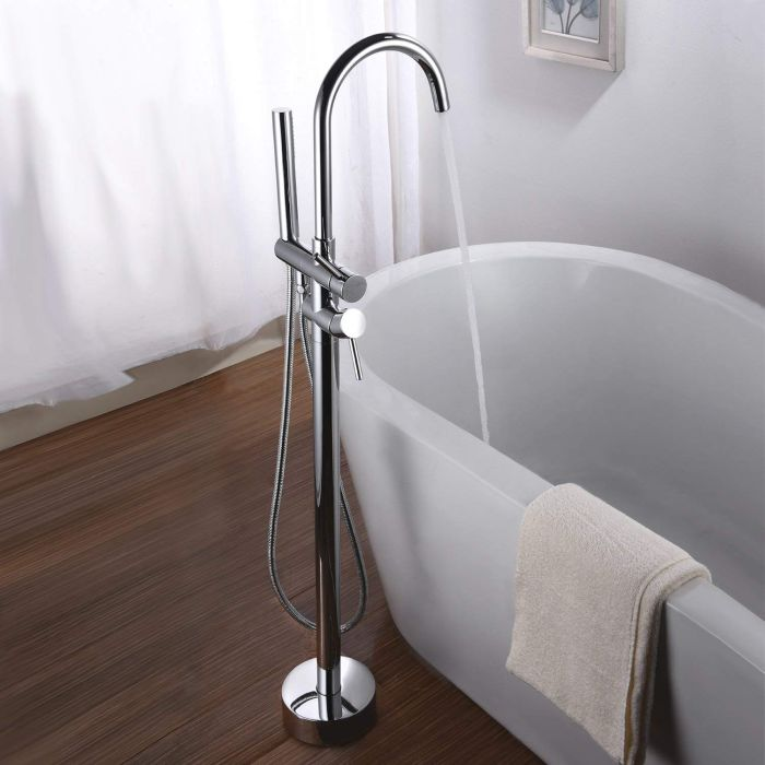 The Best Freestanding Bathtub Faucets That Add Style to the Bathroom