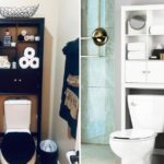 Cabinet Organizer Over Toilet