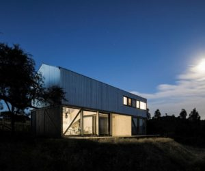 A Timeless Countryside Barn Split Into Two Contrasting Halves
