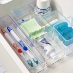 Clear Plastic Vanity Containers