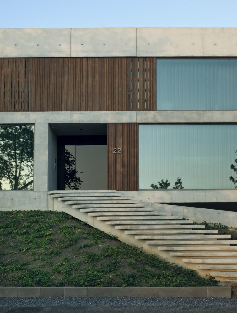 The house number is 22 and the house sits on a 22 degree slope which ultimately inspired the name of this project