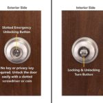 Copper Creek Ball Privacy Door Knob