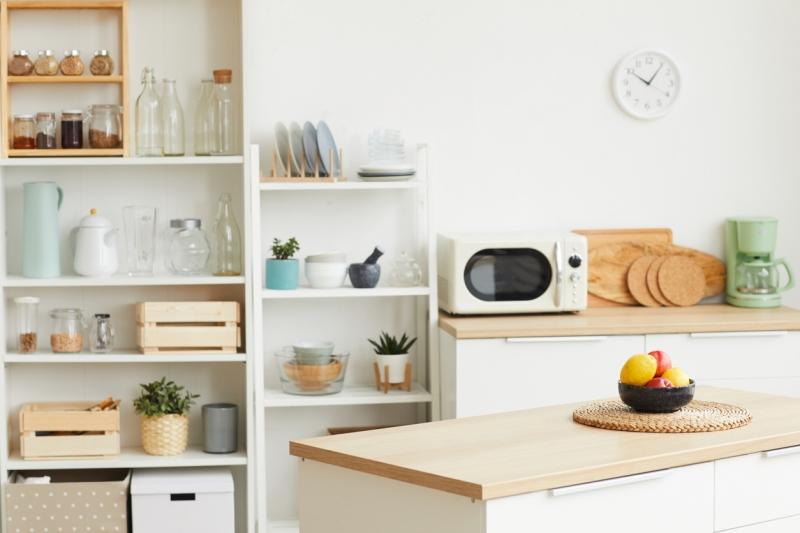 Countertop microwaves
