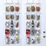 Crystal Clear Over The Door Hanging Pantry Organizer