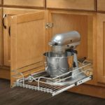 Deep Base Kitchen Cabinet Pull Out Wire Basket