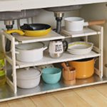 Expandable Under Sink Organizer