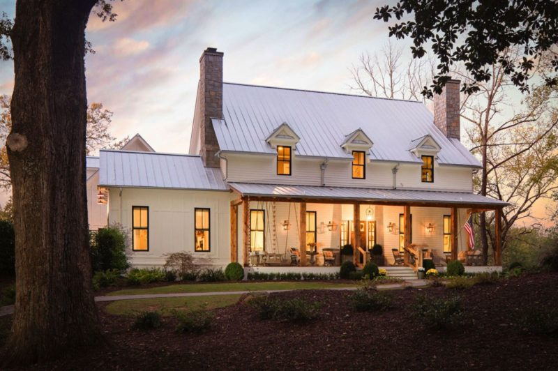 Sprawling Georgia Home is a Grand Example of Modern Farmhouse Chic