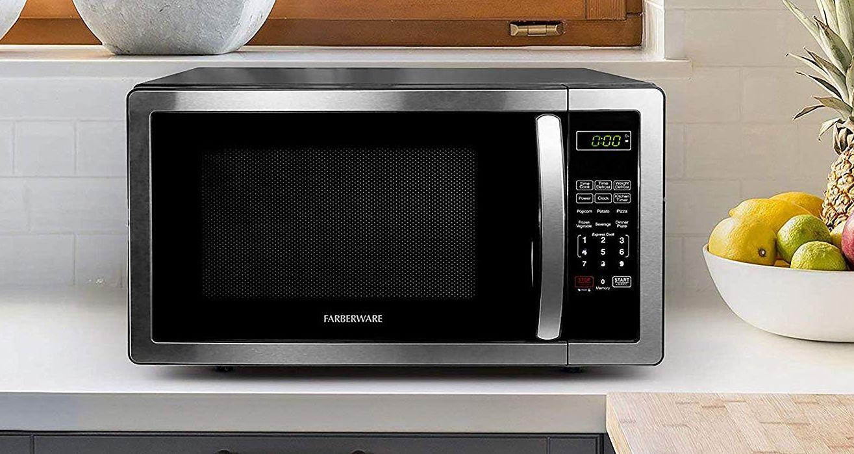 Farberware Stainless Steel Countertop Microwave Oven