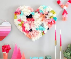 12 Lovely DIY Heart Projects Perfect For Valentine's Day