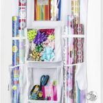 Gift Wrap Organizer for Doors