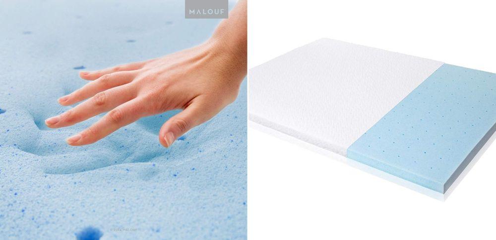ISOLUS Ventilated Gel Memory Foam Mattress Topper