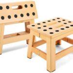 Jiodux Foldable Wooden Stool