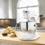 KitchenAid KP26M1XWH 6 Qt. Professional 600 Series Bowl-Lift Stand Mixer