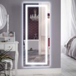 LED Lighted Vanity Mirror with Aluminum Frame Backlit