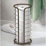 Metal Free Standing Toilet Paper Holder