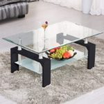 Rectangle Glass Coffee Table