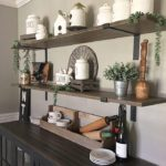 Shelf Brackets 4-Pack - Heavy Duty Rustic Industrial Farmhouse