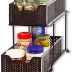 Sliding Cabinet Basket Organizer Drawer
