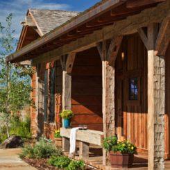 Studio Architects Montana House- porch