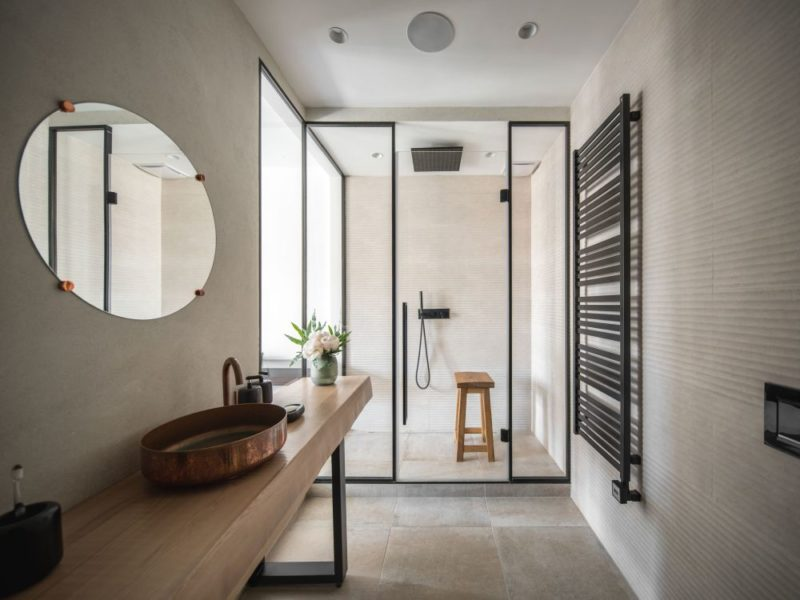 Modern Bathroom Shower Ideas In The Context Of Stylish Interiors