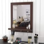 Wall Mirror Vanity Mirror with Shelf