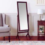 Wooden Cheval Floor Mirror