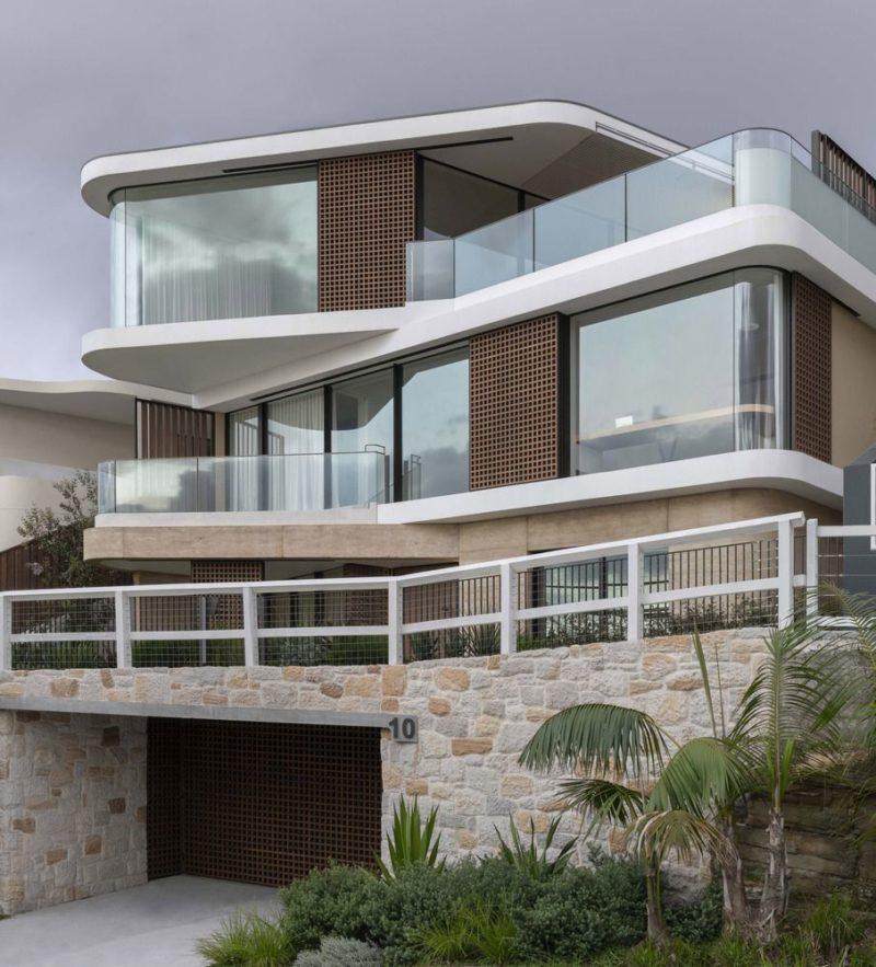 Multistory Coastal Australian Home is Focused win Ocean Views