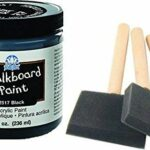 Chalkboard Paint kit - Quality Chalkboard Paint Black