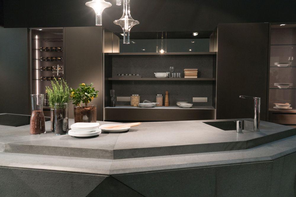 Composit kitchen island