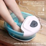 Foot Spa-Bath Massager with Heat Bubbles Vibration 3 in 1 Function