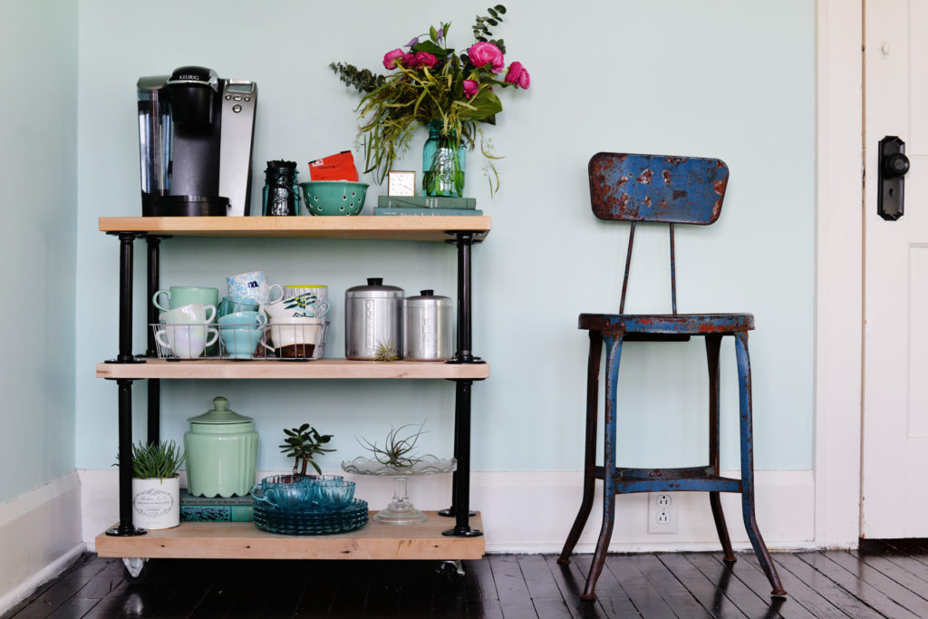 DIY Industrial Shelves That You Can Build For Cheap