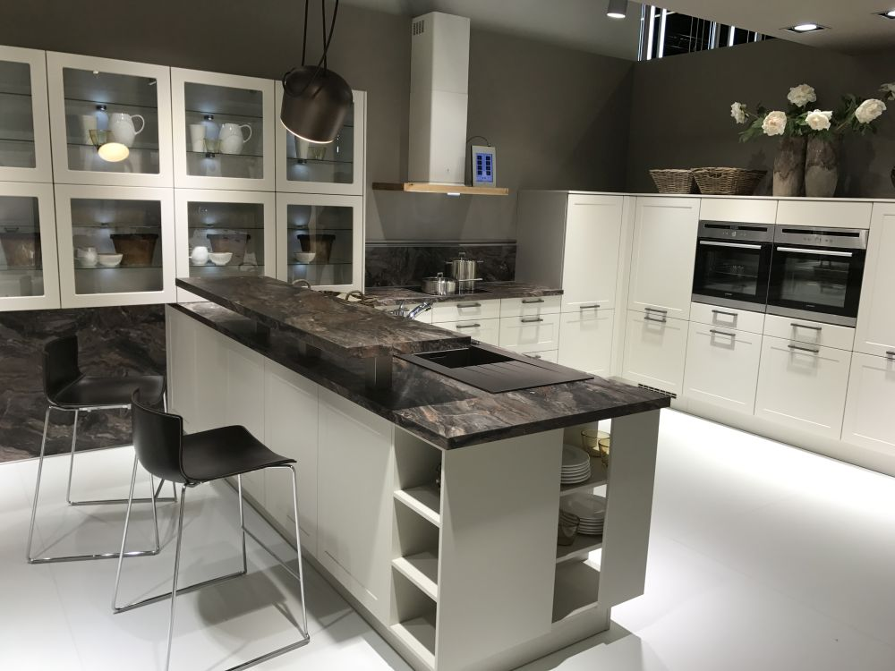Kitchen island bar with seating