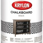 Krylon K05223000 Chalkboard Paint Special Purpose Brush-On