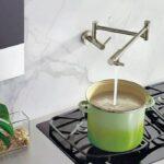 Moen S665SRS Modern Wall Mount Pot Filler Faucet