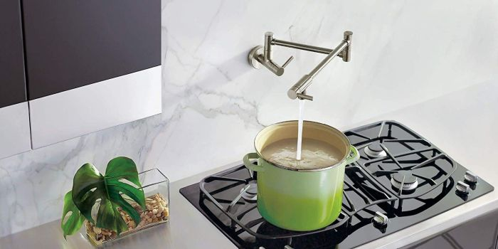 The 10 Best Pot Filler Faucets That Add Comfort And Convenience To Any Kitchen